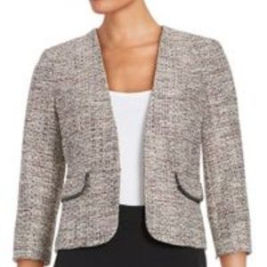 Nipon Boutique Open Front Tweed Blazer size 6